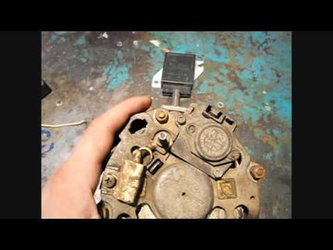 видео: генератор ваз 2108 низкое напряжение