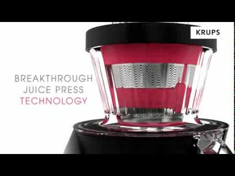 Krups Slow Juice Extractor : Cold press - Cuida Tu Cuerpo - KRUPS Slow Juice Extractor ...