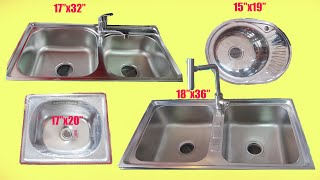 Sink Designs For Kitchen Sink Size And Price Youtube