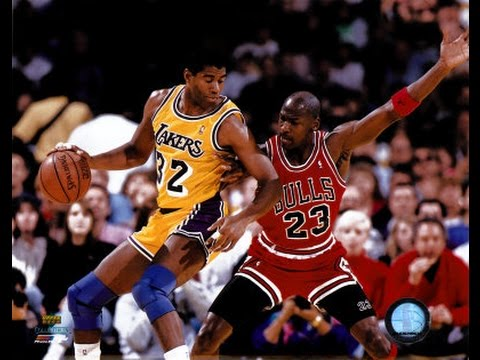 "Bulls vs Lakers -  1991 Finals Game #5 - First Half - Jim Durham & Johnny ""Red"" Kerr"