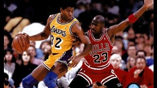 "Bulls vs Lakers -  1991 Finals Game #5 - First Half - Jim Durham & Johnny ""Red"" Kerr"