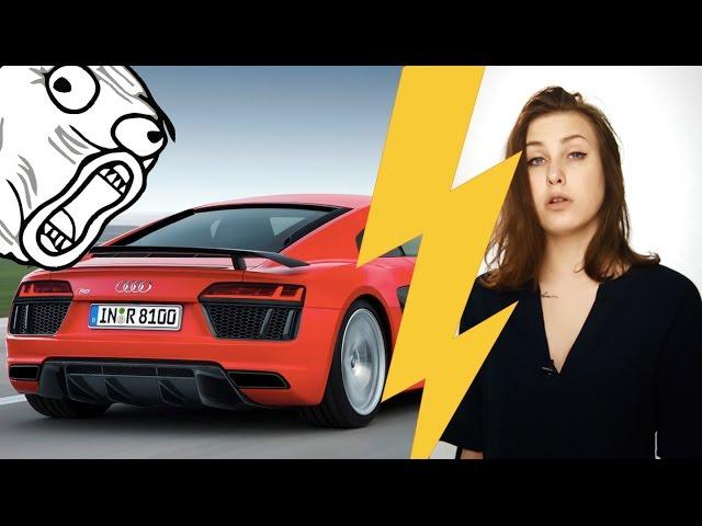 БабДрайв: Шок! Лада Гранта обогнала Audi R8!