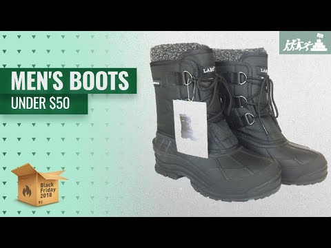 Save Big On Men's Boots Under $50 Black Friday / Cyber Monday 2018 | Black Friday Guide