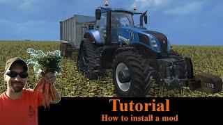 How to install a mod - Farming Simulator 2015
