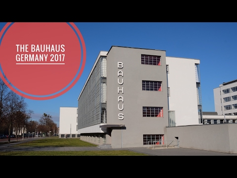 The Bauhaus by Walter Gropius - Dessau Germany 2017