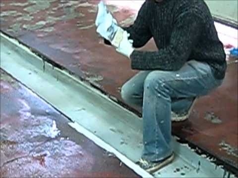 Installing an Industrial Floor with Epoxy Resins