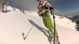ski jackson backcountry glory bowl Thumbnail