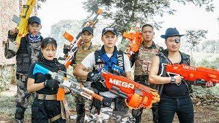 LTT Game Nerf War : Warriors SEAL X Nerf Guns Fight Criminal Group Inhuman Rescue Soldiers
