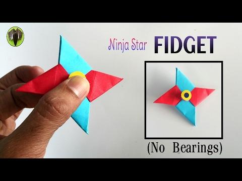 Ninja Star 'Fidget Spinner' - Handmade | DIY Tutorial by Paper Folds - 708