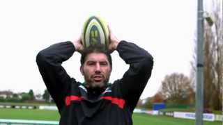 Guinness Behind the Badge - London Irish - The Line-out throw