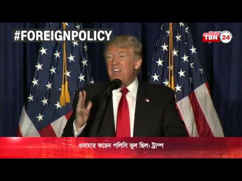 Donald Trump on Foreign Policy