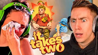 TRY NOT TO LAUGH or CRY WITH TALIA? Miniminter x Talia Mar (It Takes Two)
