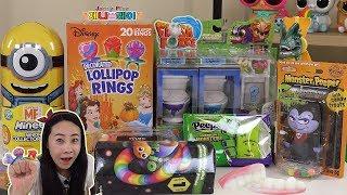 Jenny play 할로윈 과자 2편 미스테리팩 장난감 불량식품 섞어섞어 제니 장난감 놀이