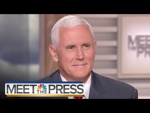 VP Mike Pence On President Donald Trump