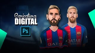 Baixar Caricatura Digital - Lionel Messi (Otavio Art Designer)