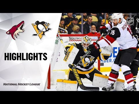 NHL Highlights   Coyotes @ Penguins 12/6/19