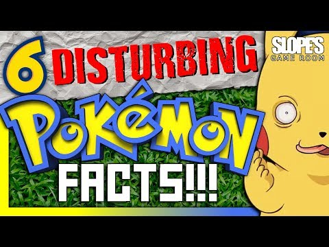 6 DISTURBING Pokemon facts - SGR
