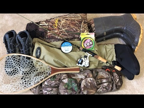 My TROUT FISHING GEAR For Creeks And Streams