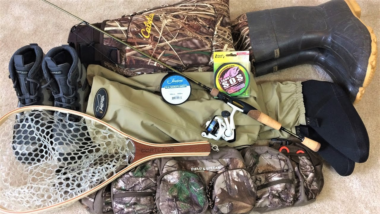 My TROUT FISHING GEAR for Creeks and Streams - YouTube