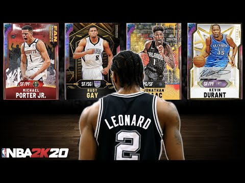 RANKING THE TOP 10 SMALL FORWARDS IN NBA 2K20 MYTEAM! WHO IS THE BEST? WHICH ONES ARE WORTH IT?