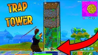 The TRAP TOWER Finally Worked! (Fortnite: Battle Royale)