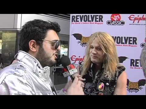 SEBASTIAN BACH Interview at Revolver Golden Gods 2011 on Metal Injection