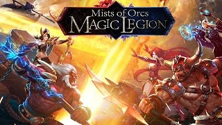 Magic Legion - Mists of Orcs Gameplay IOS / Android