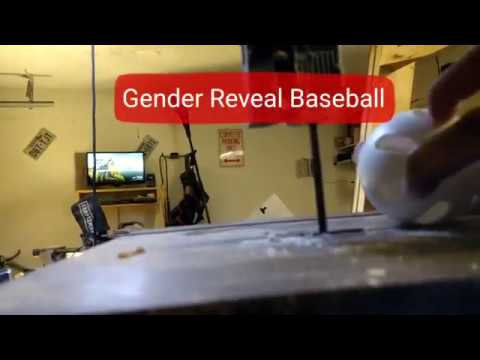 How To Make A Diy Gender Reveal Baseball
