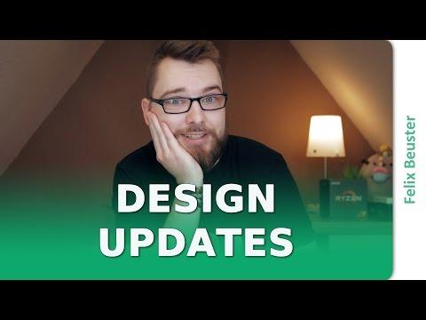 Design Updates für Blog und Kanal - Briefe von Felix [DE]