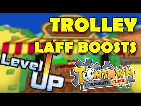 Toontown Corporate Clash: Trolley Levels