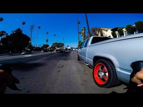 Cycling Los Angeles: Cypress Park to Pasadena Border // GoPro