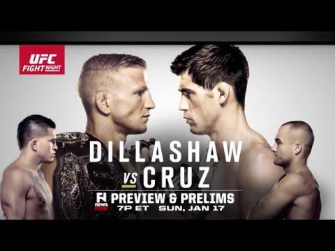 UFC Fight Night Boston: T.J. Dillashaw vs. Dominick Cruz - Fight Network Preview