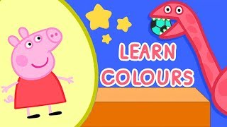 Peppa Pig English Learn Colours Surprise Eggs thumbnail