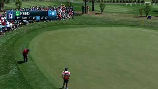 Video Patrick Reed's monster eagle putt from the fringe at Valspar download MP3, 3GP, MP4, WEBM, AVI, FLV Agustus 2018