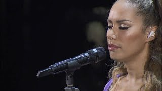 Leona Lewis - A moment like this live at Art on Ice (2013 version)