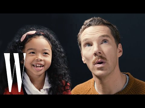 Benedict Cumberbatch Gets ed By A Cute Kid   Little W  W Magazine
