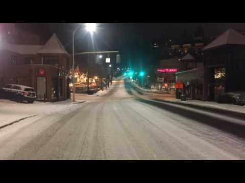 Portland officer talks about overnight road conditions