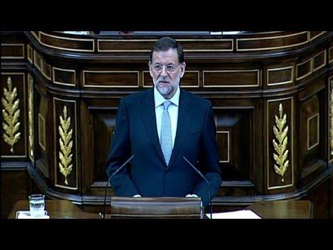 Rajoy reveló plan de austeridad