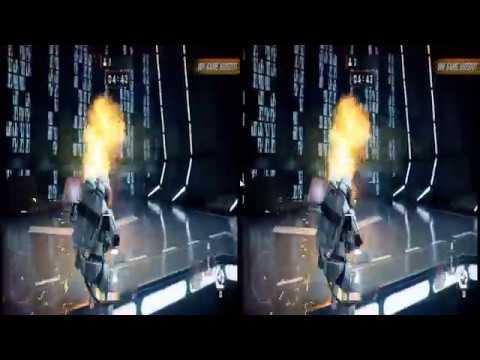 Star Wars Battlefront II (2017) stereoscopic 3D SBS 1080p