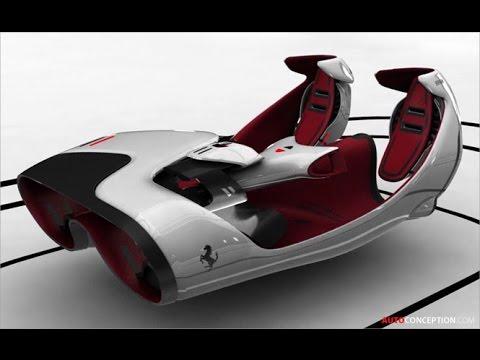 Car Interior Design 2040 Ferrari Fl Concept Youtube