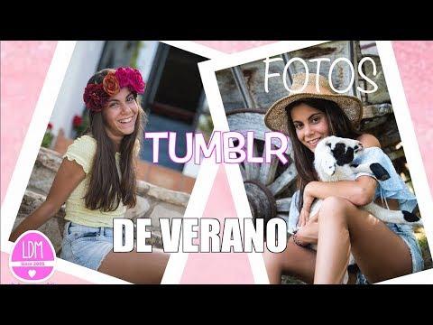 COMO HACER UNA SESION DE FOTOS TIPO TUMBLR/FOTOS DE VERANO/LA DIVERSION DE MARTINA