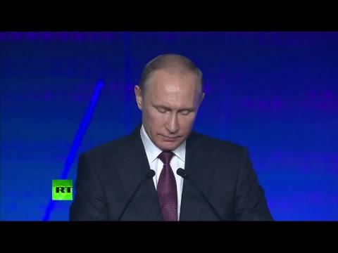 Putin speaks at The International Industrial Trade Fair INNOPROM