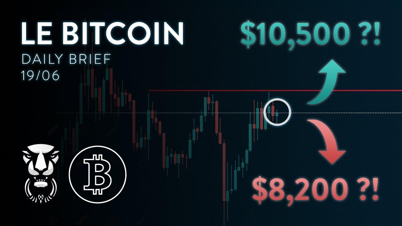 BITCOIN LE MOUVEMENT APPROCHE! BAISSIER OU HAUSSIER ?! - Analyse Crypto FR Bitcoin Altcoin