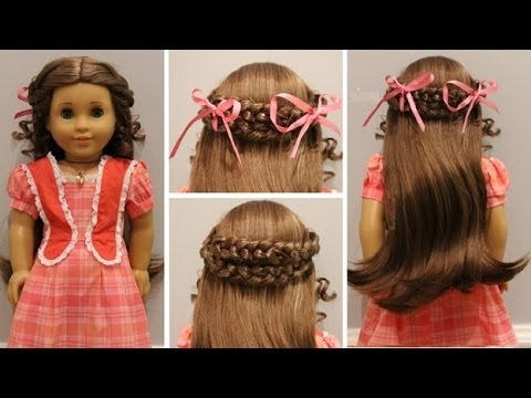 How To Do MarieGraces Meet Hairstyle YouTube - Doll hairstyles for grace
