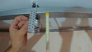 потолок на кухне в три уровня!Общая обшивка гипсокартоном часть 1