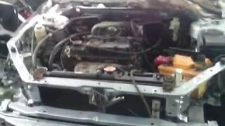 митсубиси лансер 9 первый пуск ремонт в гараже