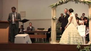 Церковь Возрождение г. Кишинёв венчание 15.09.2013