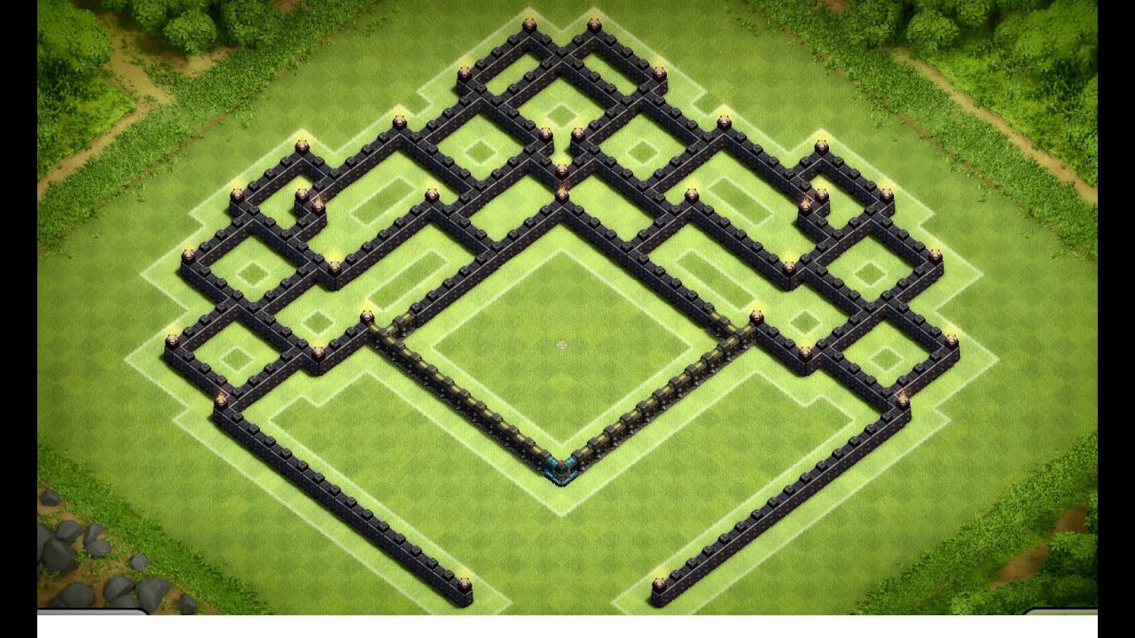 Clash of clans best town hall 9 southern teaser trophy base