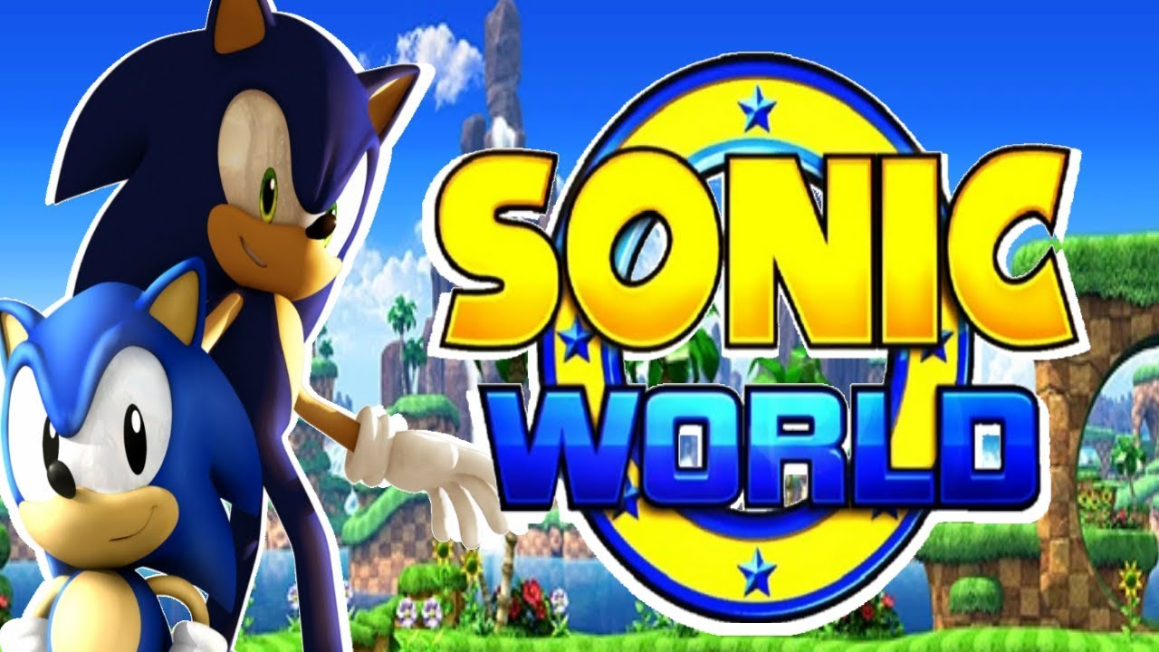 Sonic And Classic Sonic Play Sonic World Youtube