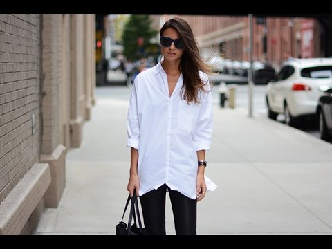black and white casual outfits - YouTube